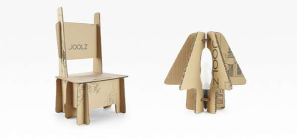 Crafty cardboard repurposing by Joolz