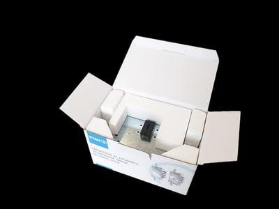 Prvotno pakiranje podjetja DOM-TITAN d.d. s polnili iz stiropora