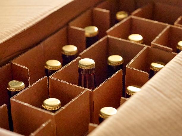Beer Cardboard box